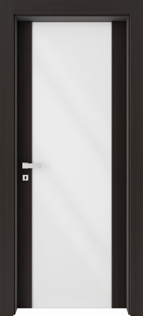 Mod. 280 Kristal Bianco - Rovere Grigio Rusticato